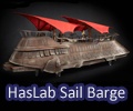 HASLAB Jabba Sail Barge